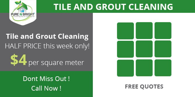 Melbourne Tile And Grout Cleaning Special Offer