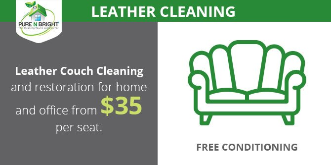 Melbourne Leather Cleaning Special Offer