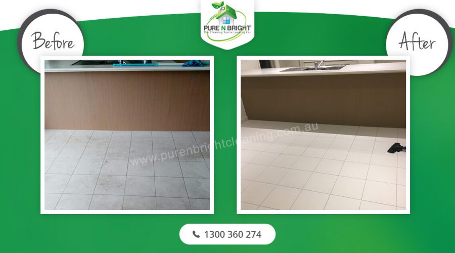 Tiles-cleaning