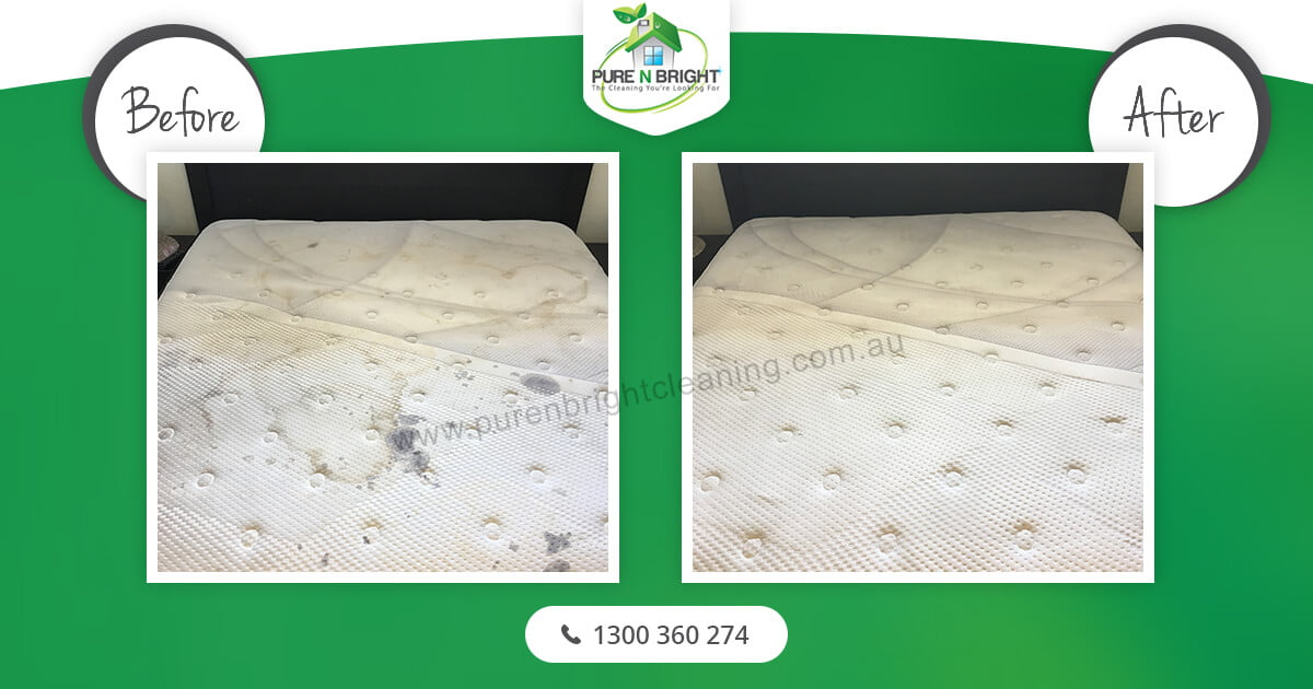before-after-mattress-cleaning Mattress Cleaning Gallery Album