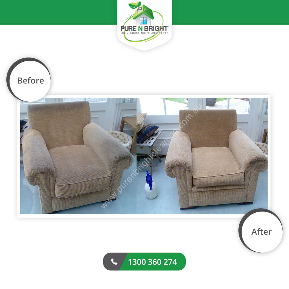 before-after-uphol Upholstery Cleaning Gallery Album