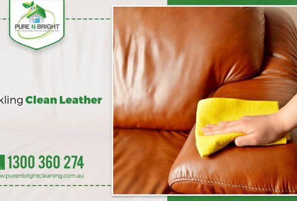 Leather Cleaning in Melbourne