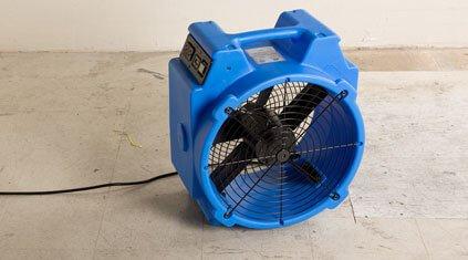 Axial-flood-dryer